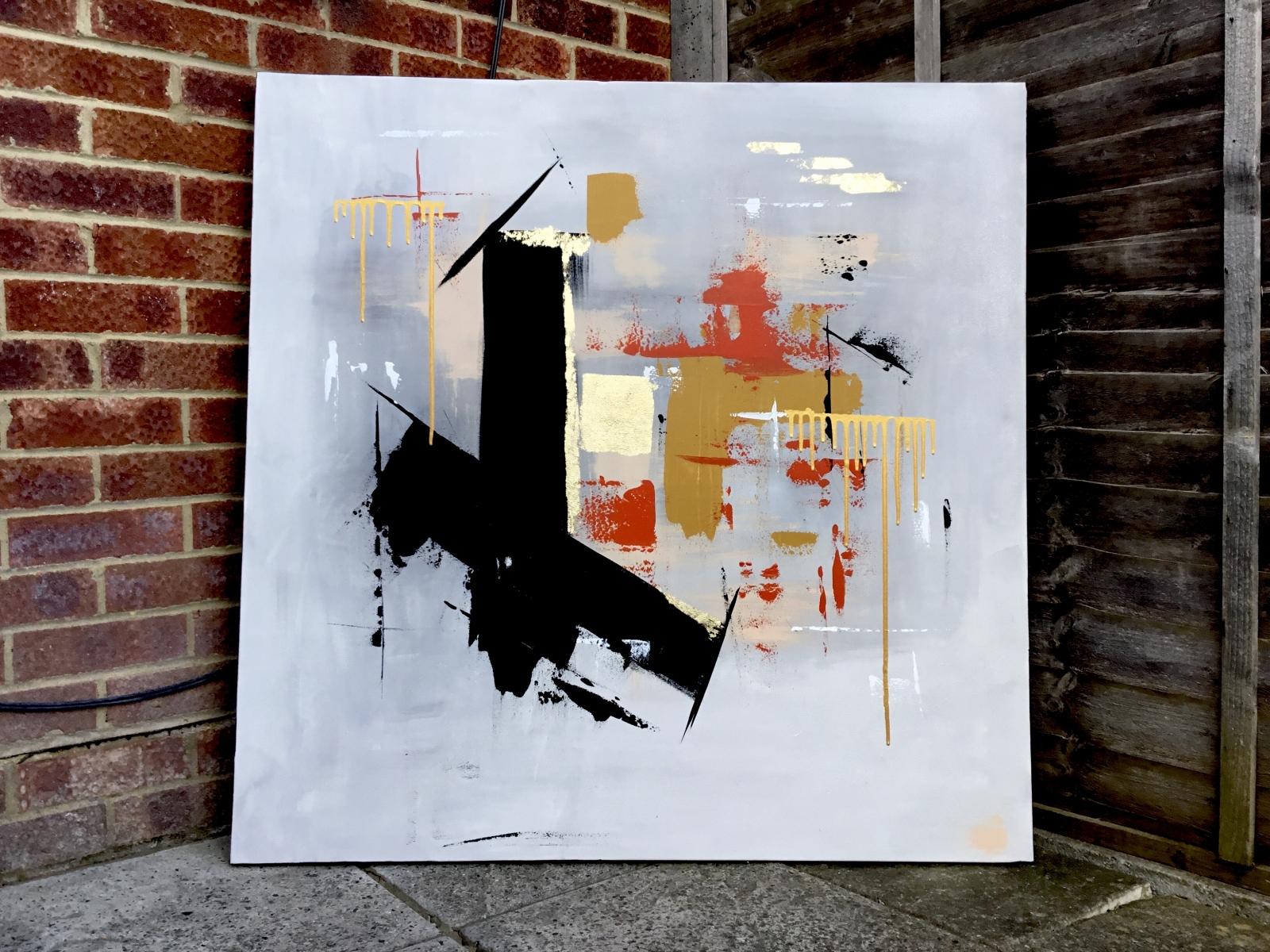 """ HARMONY "" abstract painting"